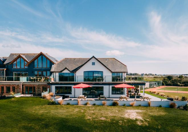 The Point at Polzeath Clubhouse