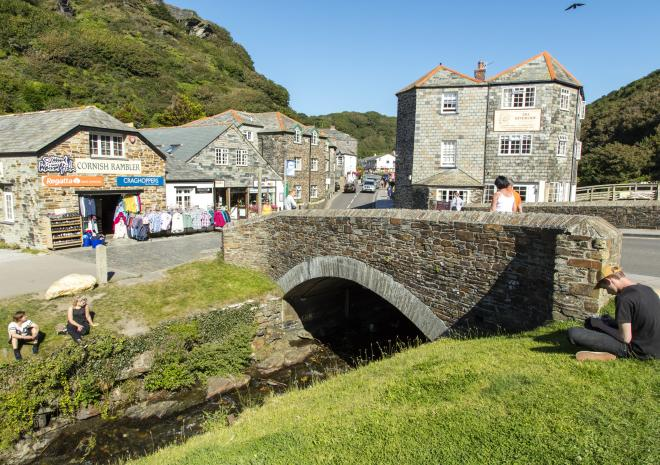 Hilly View, Boscastle, Cornwall