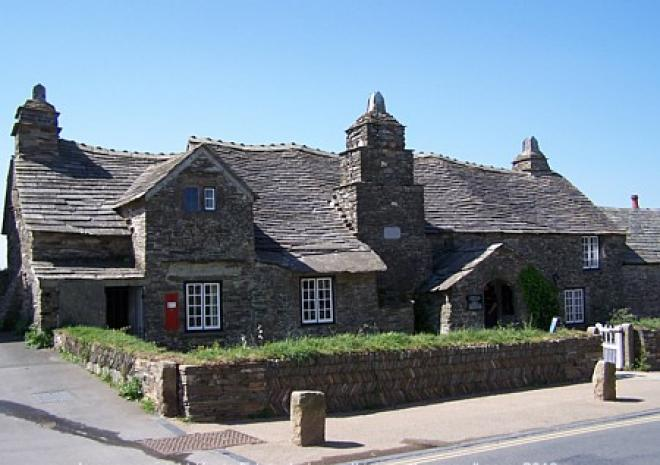 The Old Post Office, 14th Century, Tintagel,Cornwall