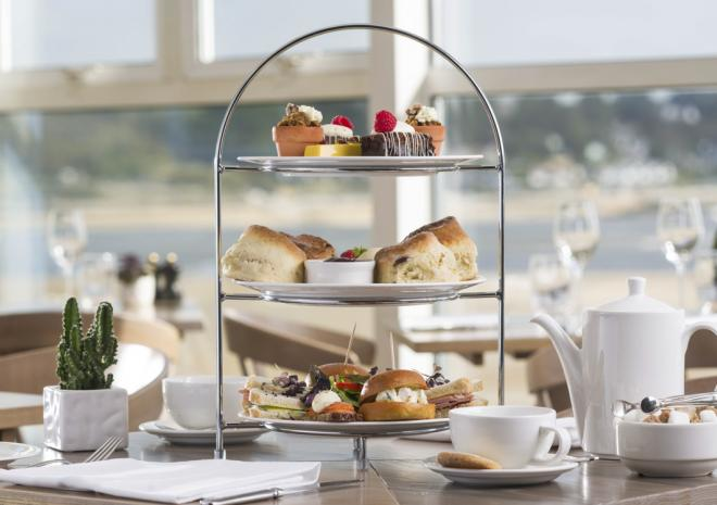 Afternoon tea at Padstow Harbour Hotel