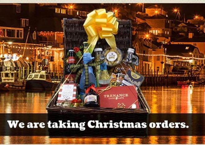 Christmas hampers, Purely Cornish, Looe, Cornwall