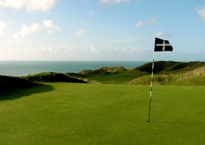 Perranporth Golf Club; Cornwall