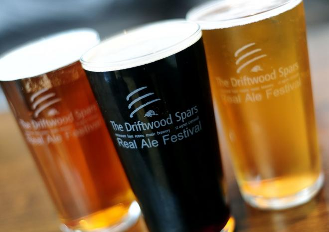 Beer festivals at The Driftwood Spars