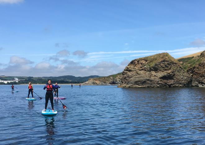 Group SUP Tour