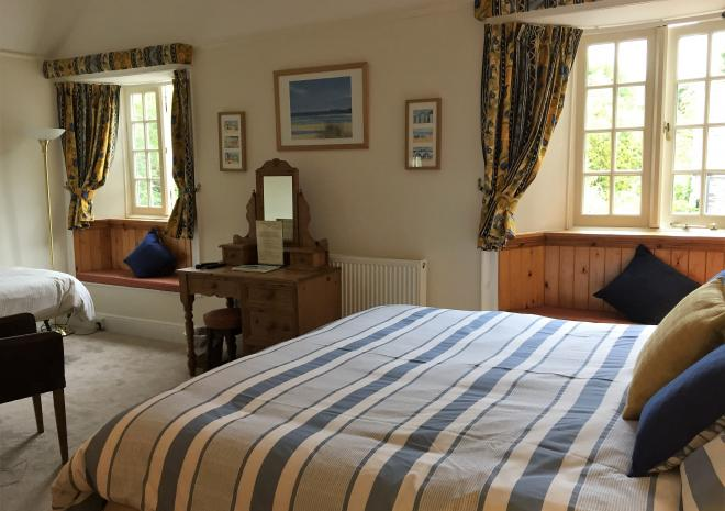 Polraen Country House Bed and breakfast Superior Family Room Looe Cornwall