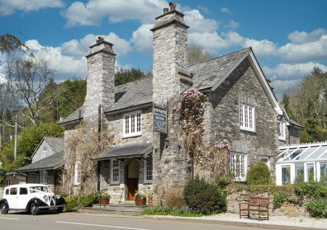 Polraen Country House Hotel Bed and Breakfast Looe Cornwall
