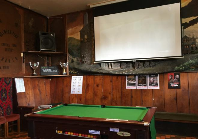 Pool and Big Screen Sport Bird In Hand Pub, Hayle, West Cornwall