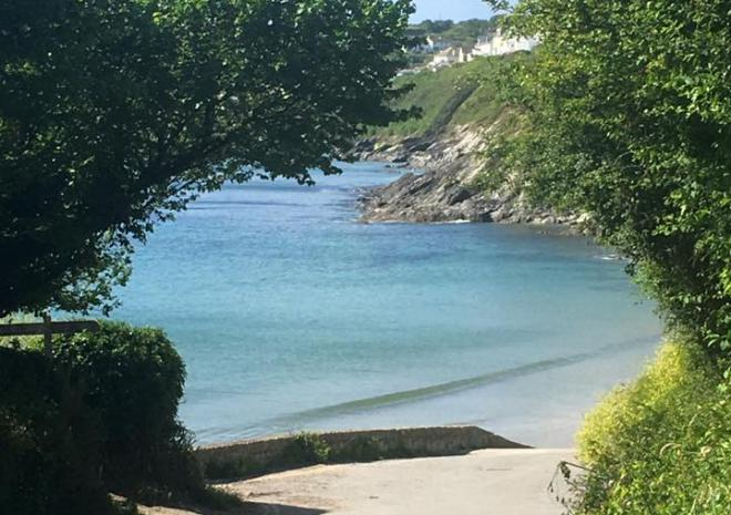 Sheltered bays for sea swimming