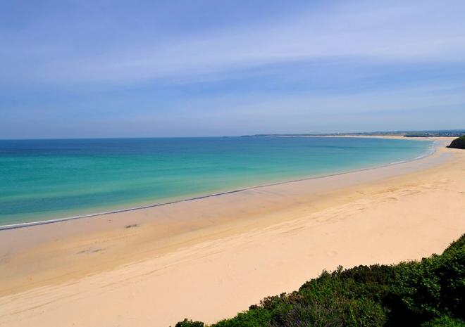 Take a stroll to Porthkidney beach for complete tranquility....