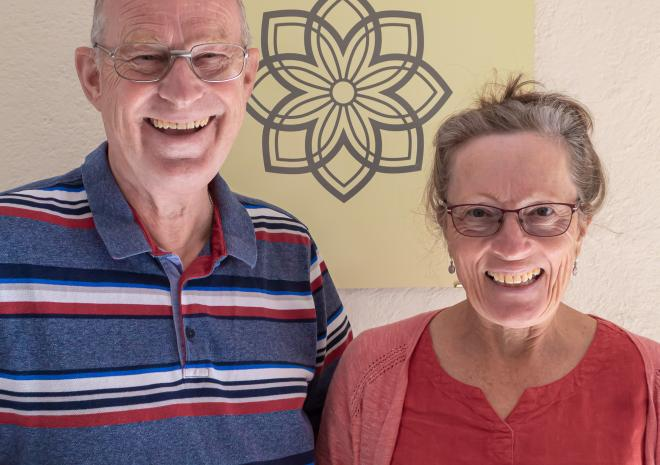 Primrose Cottage B&B, Your Hosts, Richard and Ros
