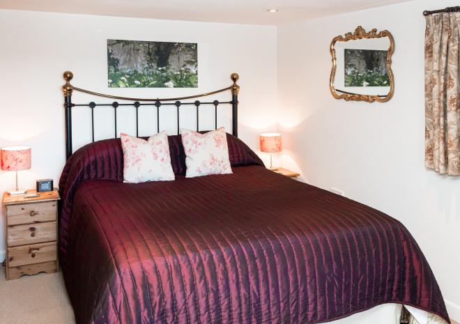 Primrose Cottage B&B, the Stable Suite, King-size Bedroom