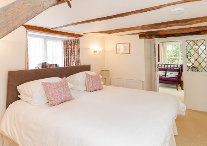 Primrose Cottage B&B, Garden Room, Super King-sized Bed Configuration
