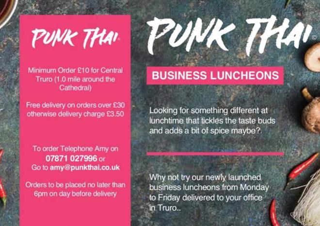 Punk Thai, Asian Fusion Food, Cornish Asian Cuisine