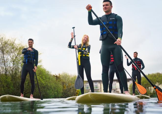 Retallack Resort and Spa, Stand Up Paddle boarding