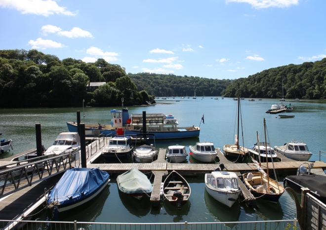 Enterprise Ferries boat tours departing Malpas - Just along from Fal River Cottage
