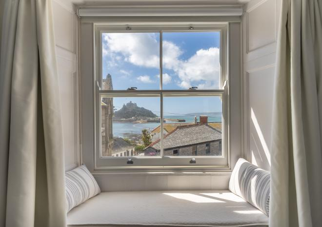 View from one of our Sea View Rooms