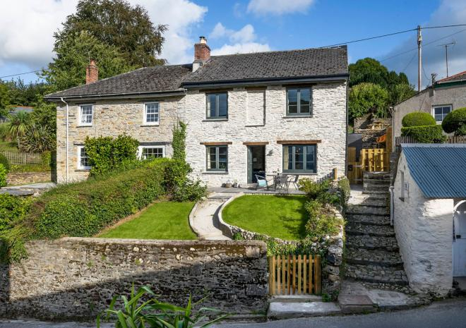 Roselyn Cottage Fowey River Forever Cornwall