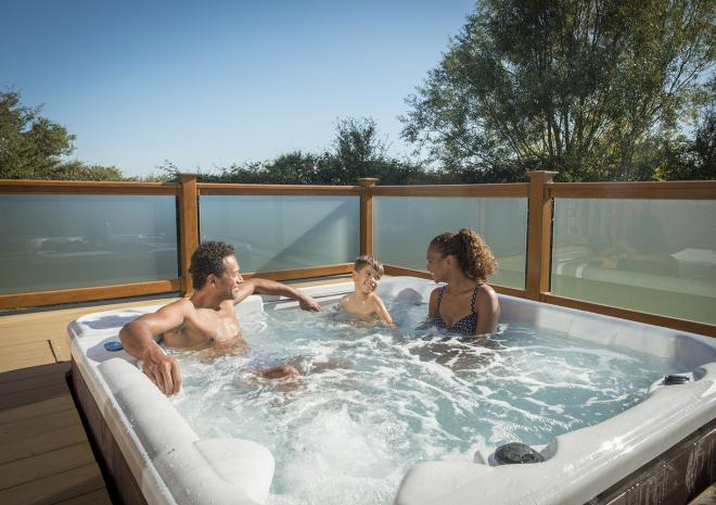 St Ives Holiday Village, John Fowler, Accommodation, Holiday Parks, West Cornwall, St Ives, Hot Tub Lodges