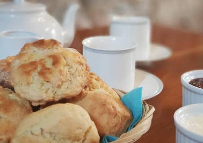 Delicious Cornish Cream Tea - Complimentary for all our Guests
