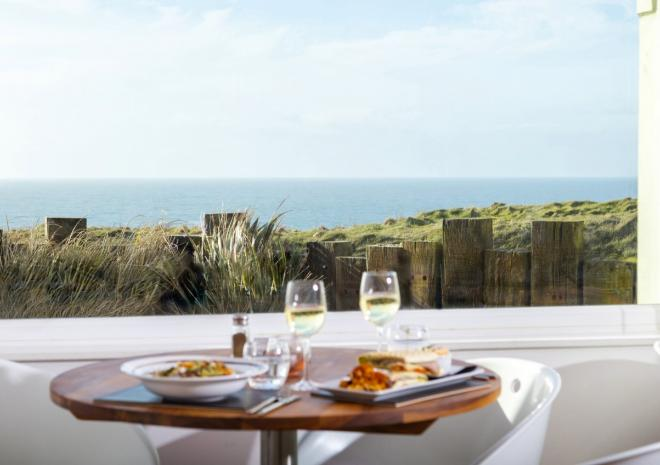Sands Resort Hotel, Cornwall - Beachcomber Restaurant