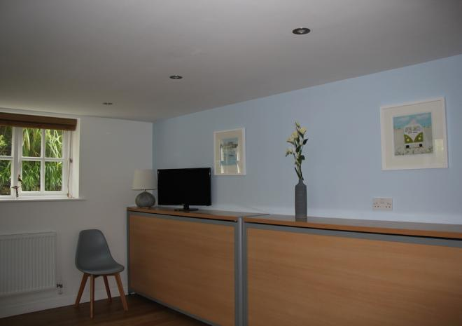 Self Catering Holiday Apartment Falmouth Cornwall Castle Apartment Luxury Wall Beds