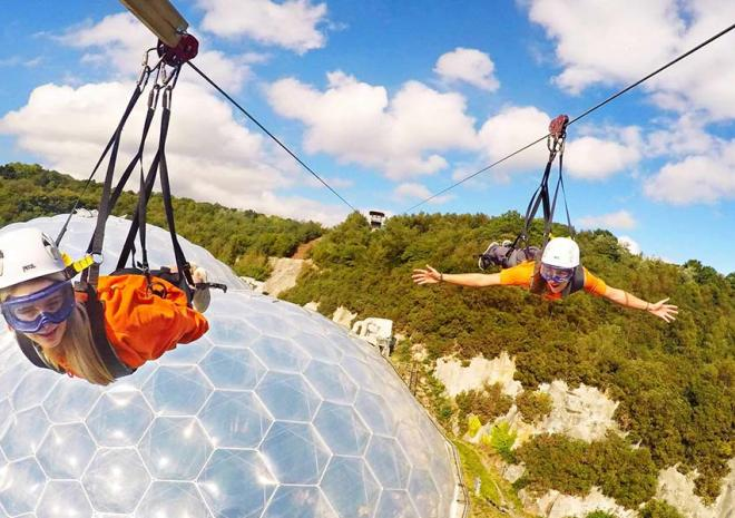 Skywire Zip Line Cornwall