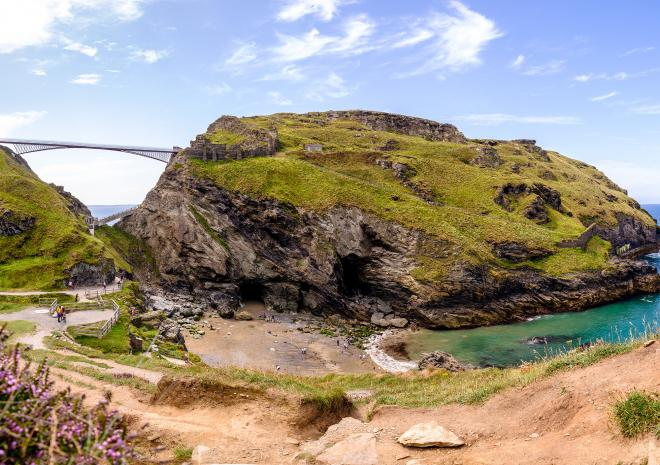 Tintagel Castle, Cornwall, English Heritage, King Arthur