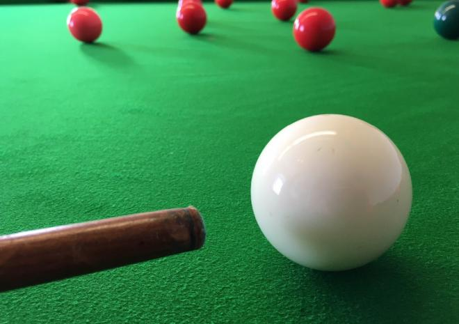 Snooker Hall at the Bird In Hand Pub, Hayle, West Cornwall