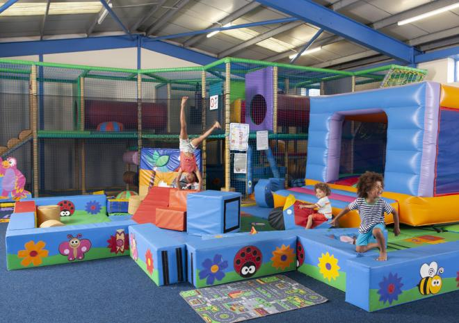Crazy Caves Indoor Soft Play, Mullion Holiday Park