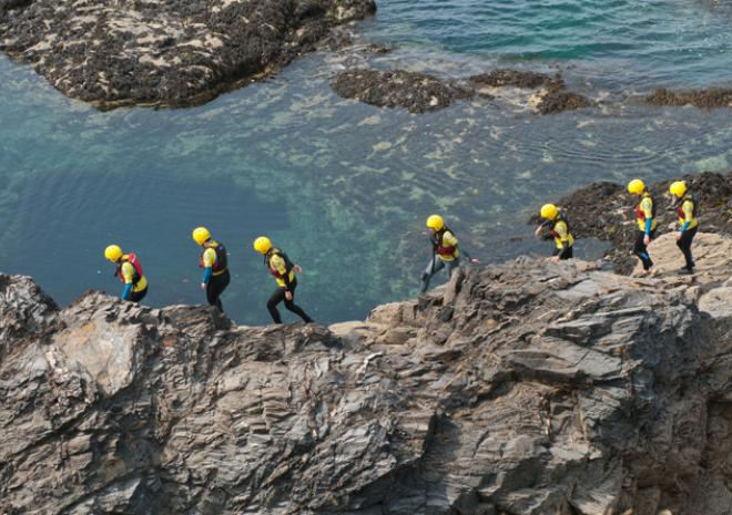 Coasteering| Harlyn Surf School | Padstow | Cornwall
