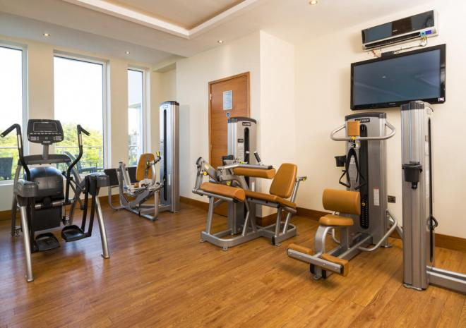 The Gym at St Ives Harbour Hotel