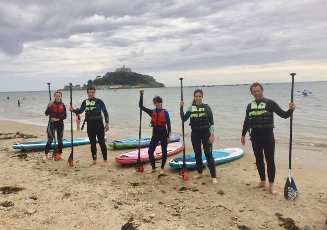SUP at St Michael's Mount