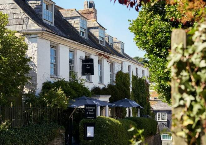St Petroc's Bistro, Padstow, North Cornwall