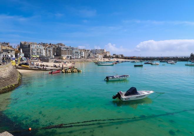 Polmanter Touring Park, St Ives, Cornwall - St Ives Harbour