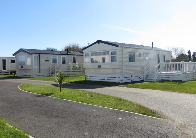 Our new holiday caravans welcome you at Little Treovthan