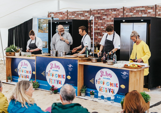 St Ives Food and Drink Festival 2019 Visit Cornwall What's On