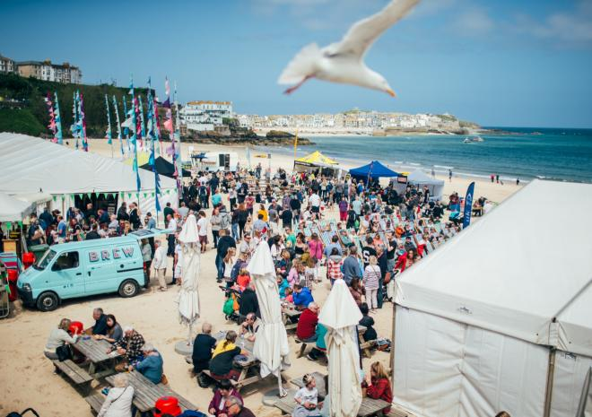 St Ives Food & Drink Festival, Cornwall