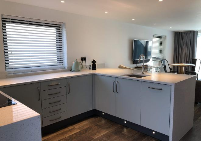 Sun Seeker at Wooldown Holiday Cottages with fully equipped kitchen, just for couples