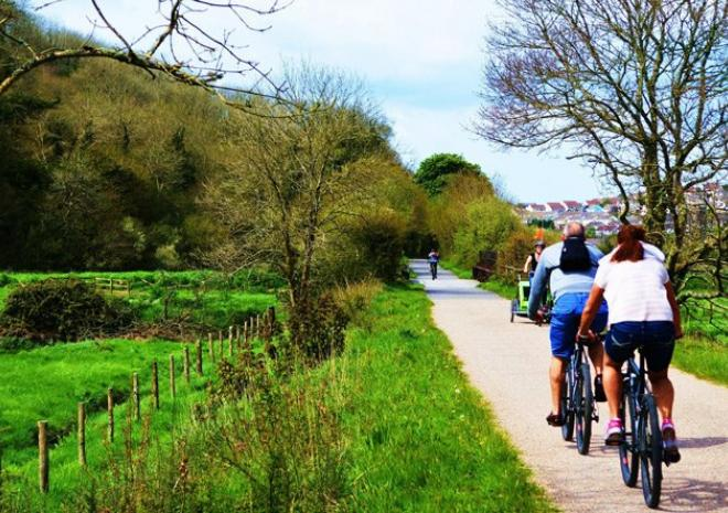 Along the Camel Trail towards Padstow