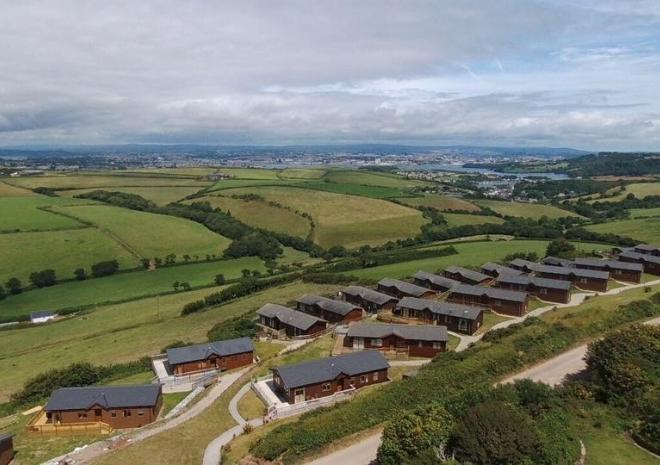 Lodges with stunning views