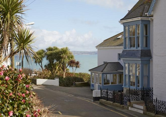 The Old Coastguard Hotel, Mousehole, west Cornwall