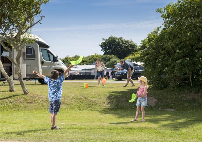 Touring and Camping at Holywell Bay Holiday Park