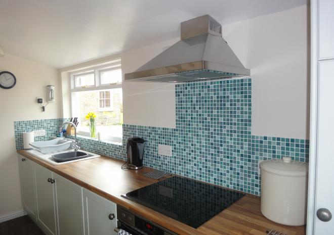 Treeve Moor Cottage, Sennen, kitchen, self catering, West Cornwall