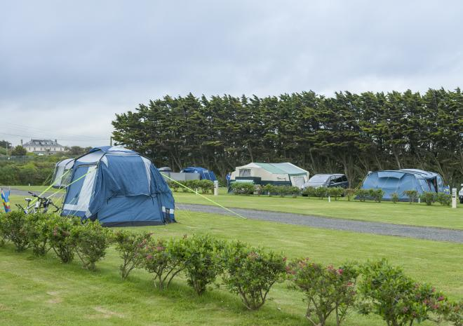 Tregurrian, Camping & Caravanning Club, Cornwall