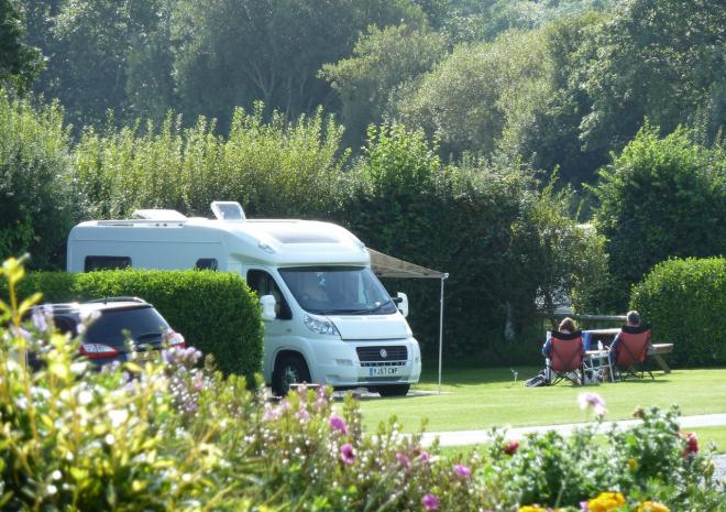 Trethem Mill Touring Park, ideal for motorhomes