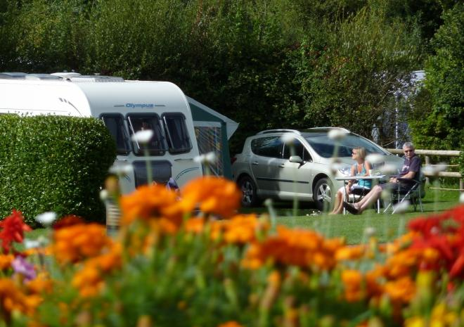 Trethem Mill Touring Park, ideal for caravans
