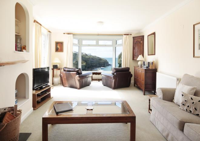 Stunning views from Upper Tregudda | Cottages in Cornwall