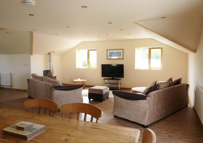 Treworgans Holiday Park, self catering cottage, North Cornwall, Upstairs