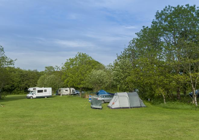 Veryan Caravanning and Camping Site, Cornwall