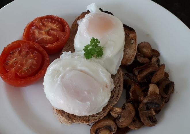Cornish breakfast cooked with the best local produce